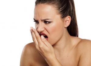 como curar mau hálito da garganta